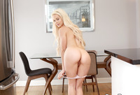 Elsa Jean shown getting reamed by a fat dick in the morning #01