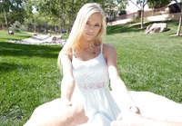 Cute blonde Alex Grey enjoys a picnic and a nice dick #02