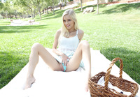Cute blonde Alex Grey enjoys a picnic and a nice dick #04