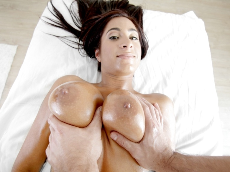 Stacy Jay in POV massage and fuck scene