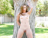 Anya Olsen gets that pussy rammed in the park #01