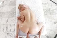 Busty mature babe Rachel Roxxx gets a boob massage #13