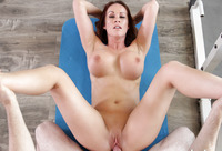 Sabrina Cyns in Naked Workout by Pure Mature #12