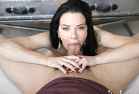 Veronica Avluv is a busty mature lady seducing a younger guy #12