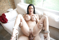 Veronica Avluv is a busty mature lady seducing a younger guy #15