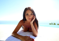 Busty brunette Anissa Kate gets her chest creamed #02