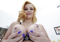 Pale busty babe Rain Summers pleasing that cock #08