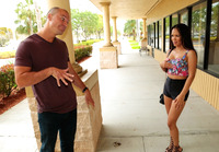 Busty Emily Mena picked up in public and fucked hard #01