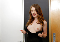 Perky Elena Koshka looking good in first time audition #01