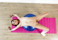 Slutty teen Adessa Winters fucked during aerobics #07