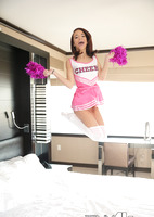 Paisley Rae is a teenie cheerleader reamed by a big dick #01