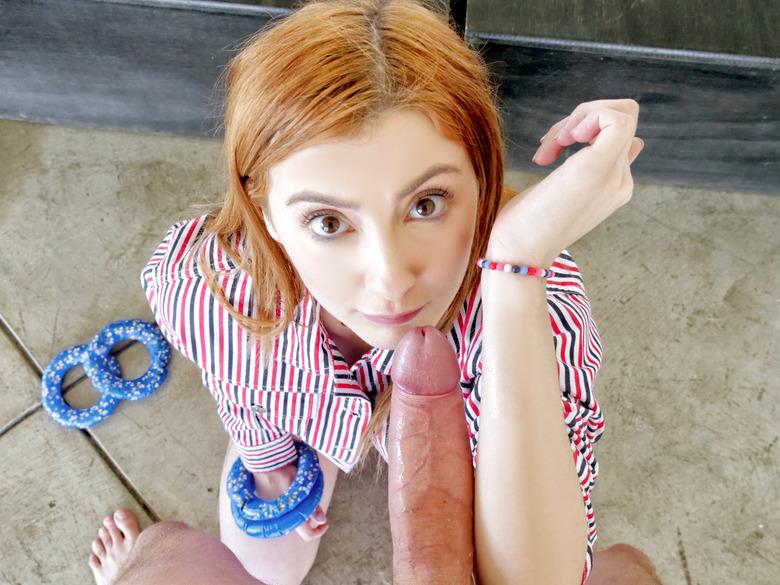 Megan Winters in Cock Ring Toss