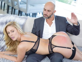 Stunning MILF Cherie Deville pays off debt with anal sex