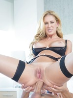 Stunning MILF Cherie Deville pays off debt with anal sex #11