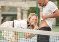 Student gets her ass fucked by tennis instructor #05