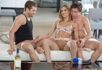 Gorgeous babe Chloe Amour in ravaging anal threesome #05