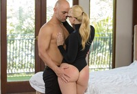 Bootylicious babe AJ Applegate gets her ass stuffed deep #03