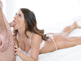 Adriana Chechik is a gorgeous babe handling cock