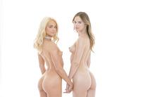 Elsa Jean &  Jillian Janson share a hard cock #02