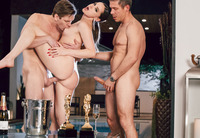 Tori Black ravashed by two dicks at once #06